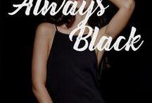 ALWAYS BLACK / Women's Favorite Color