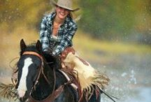 Inspiration for my Lone star collection / Cowgirls, rodeo, horses...
