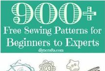 Sewing Tips & Fabric / How to sew: Practice Projects, Tips, Ideas! / by Lindsay Haaven