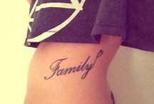 Tattoos / by Mackenzie Krantz🌻