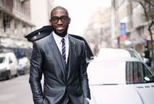Tinie Tempah / One dapper to rule them all.
