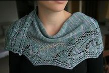 Shawls and scarves / Knitted Shawls and scarves