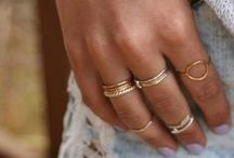 Rings  / One of my favourite accessories!