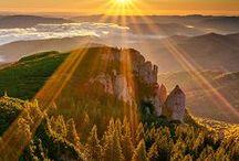 Landscapes - krajobrazy / Romantyczne widoki, piękne pejzaże, natura,krajobrazy, zachody i wschody słońca