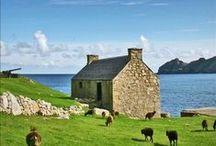 HOME OF HARRIS TWEED / Hebrides Islands,Scotland