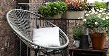 Idealny balkon, taras,, weranda / miejsce odpoczynku..... i radości dla oka