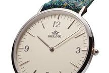 BIRLINE | HARRIS TWEED / Birline is the FIRST watches with an authentic Harris Tweed strap | LONDON,UK