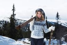Sassy Snowy Style / Finding fashion inspiration for the 'off-duty' times during the skiing holiday