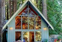 Chatki ogrodowe, drewniane, romantyczne