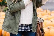 Fall Fashion Inspo / Favorite fashion trends for the Fall season.
