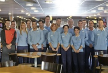 Our faces / On board, you will find an experienced staff ready to serve you