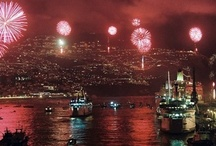 Fireworks / On New Years Eve, we hoste you in a magnificent party on board, overlooking the entire bay of Funchal with its magnificent fireworks