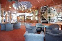 All aboard / A variety of leisure areas on board the ship have been designed especially with the passenger in mind.