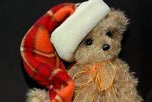 vintage teddy bears / by Jill Staaf
