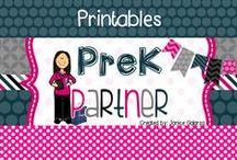 Printables / Hundreds of printables for your classroom or homeschool