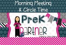 Morning Meeting & Circle Time / Find activities and ideas on how to engage your students in the first few minutes of the day!