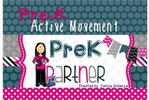 Pre-K Active Movement