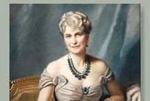 Marjorie Merriweather Post / Marjorie Merriweather Post (March 15, 1887 – September 12, 1973, Springfield, Illinois) was a leading American socialite and the founder of General Foods, Inc. She was the daughter of C. W. Post and Ella Letitia Merriweather. At age 27, when her father died, she became the owner of the rapidly growing Postum Cereal Company, founded in 1895. She was subsequently the wealthiest woman in America, when her fortune reached approximately USD $250 million. / by Christopher McLaughlin