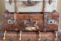 ❤️ old suitcases / Oude koffers / by Marlena van Wingerden