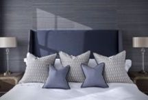 Headboards / Simon Horn offer bespoke headboards, made to order in the UK, allowing customers to specify everything from style and size to their own upholstery fabrics and finishing detailing