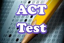ACT Test Study Resources / A collection of ACT test study aids to help you prepare for the ACT test. Practice questions, flashcards, and a study guide that can help on the test. / by Test Prep Review