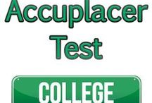 ACCUPLACER Exam Study Resources / A collection of ACCUPLACER  test study aids to help prepare for the ACCUPLACER test. Practice questions, flashcards, and a study guide that can help on the test. / by Test Prep Review