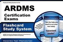 ARDMS Exam Study Resources / A collection of  ARDMS test study aids to help prepare for the  ARDMS test. Practice questions, flashcards, and a study guide that can help on the test. / by Test Prep Review