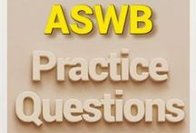 ASWB Social Work Exam Study Resources / A collection of ASWB Social Work test study aids to help prepare for the ASWB Social Work test. Practice questions, flashcards, and a study guide that can help on the test. / by Test Prep Review