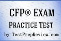 CFP Exam Study Resources / A collection of CFP test study aids to help prepare for the CFP test. Practice questions, flashcards, and a study guide that can help on the test. / by Test Prep Review