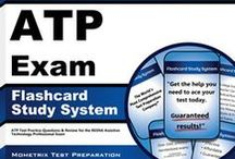 ATP/ATS Exam Study Resources / A collection of ATP/ATS test study aids to help prepare for the ATP/ATS test. Practice questions, flashcards, and a study guide that can help on the test. / by Test Prep Review - Free Practice Tests