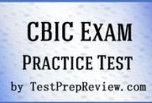 CBIC Exam Study Resources / A collection of CBIC test study aids to help prepare for the CBIC test. Practice questions, flashcards, and a study guide that can help on the test. / by Test Prep Review