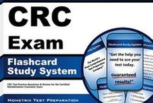 Certified Rehabilitation Counselor Test Study Resources / A collection of Certified Rehabilitation Counselor test study aids to help you prepare for the Certified Rehabilitation Counselor test. Practice questions, flashcards, and a study guide that can help on the test. / by Test Prep Review
