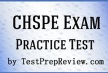 CHSPE Test Study Resources / A collection of CHSPE test study aids to help you prepare for the CHSPE test. Practice questions, flashcards, and a study guide that can help on the test. / by Test Prep Review - Free Practice Tests
