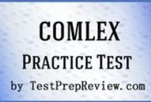 COMLEX Test Study Resources / A collection of COMLEX test study aids to help you prepare for the COMLEX test. Practice questions, flashcards, and a study guide that can help on the test. / by Test Prep Review