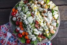 Salad Recipes / by Let's eat with Alicia