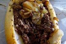 Philly Cheese Steak Recipes / by Let's eat with Alicia