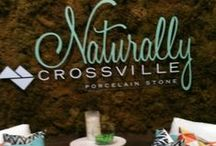 Tile - Uncovering the Latest Trends at Coverings 2014 / These are images from the Crossville Tile hosted KBtribechat at #Coverings2014.