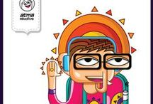 Atma - Doodles & Illustrations / Atma Artists - Doodles & Illustrations