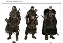 concept arts, character design