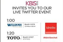 Prog. KBtribechat at KBIS 2015 / These are images from our January 20, 2015 event at KBIS sponsored by Wellborn Cabinet, Cambria Quartz and TOTO. / by kbtribechat