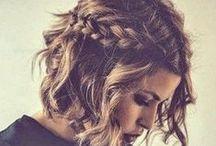 Hair & hairstyles / Śliczne włosy oraz upięcia