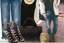 MODA / stylizacje, ubrania- sukienki, buty -szpilki itp