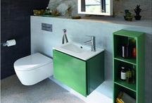 Space-saving design for your bathroom / An increase in demand for compact bathrooms for new-build houses, small awkward spaces and extra bathroom spaces for multi-generation living has seen small-space options gain in popularity. Manufacturers offer a range of solutions including small projection WCs, compact basins, mini mixers and streamline minimalist furniture. Compact basins are now offered with a generous washing space and furniture options are equipped with ample storage to offer practicality and style.