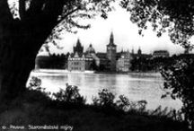 PHOTOGRAPHY: Vintage Prague Postcards / The Bohemian City in Postcards from the past. Prague, Czech Republic.