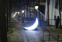 L. arch. lights