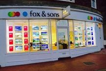 Fox and Sons Estate Agents / All the Fox and Sons branches listed.