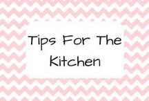 Tips for the kitchen
