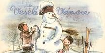 CZECH: Vintage Christmas Cards
