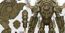 RPG - golems - robots, machines, elementals, ents ect