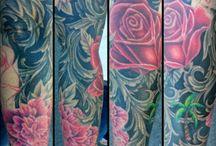 Salt Lake City Utah Tattoo Artists / Tattoos and artwork done by artists located in Salt Lake City, Utah. www.slctattoos.com